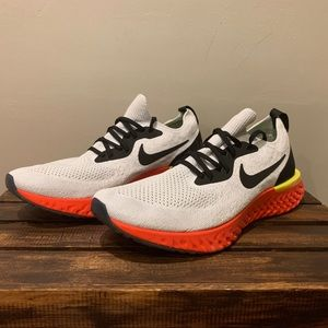 NEW Nike Epic React Flyknit Men Running Shoes